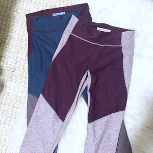 2 outdoor voices leggings